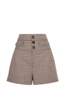 CHLOE High-rise houndstooth wool-blend tweed shorts Retail price €590 Size 40