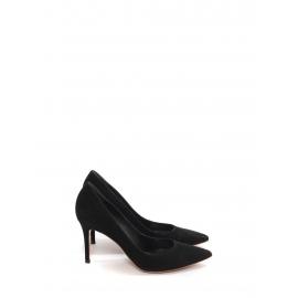 Black suede 9cm heel pointy toe pumps NEW Retail price €500 Size 39