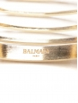 Long gold-tone cuff bracelet Retail price €325