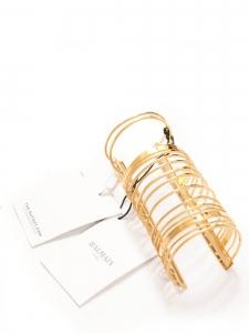 Long bracelet manchette finement doré Prix boutique 1325€