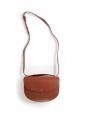 GENEVE tan brown leather cross-body bag NEW Retail price €455