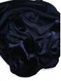 Midnight blue velvet sleeveless short dress Size 38