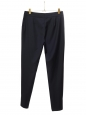 Midnight blue wool-twill slim fit tailored pants Retail price $560 Size 42