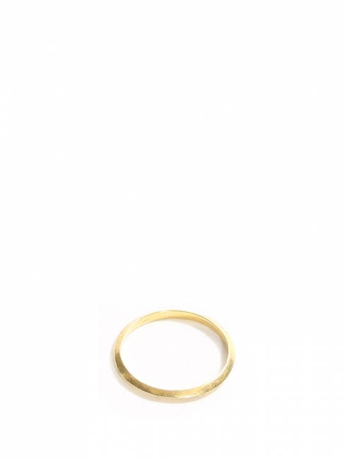 Gold plated thin band ring Retail price €50