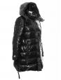 PARADISE black puffer winter coat / dawn jacket Retail price €600 Size Xs