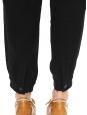 Pantalon MEGEVE fuselé tissé noir Prix boutique 265€ Taille S