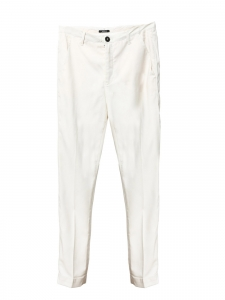Pantalon chino slim fit blanc cassé Prix boutique 120€ Taille XS