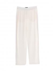 Pantalon fluide en crêpe blanc Prix boutique 850€ Taille 38