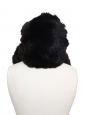 Dark brown fur chapka hat Size S / 56