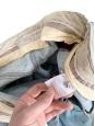 Jean flare en denim bleu clair Px boutique 220€ Taille 36