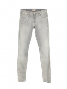Jean gris clair slim fit Looker Dark Moon Prix boutique 290€ Taille 25