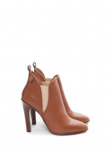 Bottines à talon PIPER en cuir camel Prix boutique 640€ NEUVES Taille 37,5