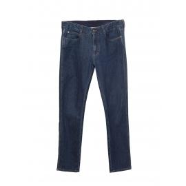 Mid waist skinny boyfriend dark blue jeans Retail price €370 Size 29