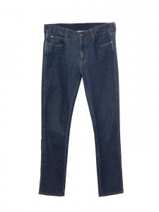 Jean boyfriend skinny taille haute bleu brut Prix boutique 370€ Taille 29