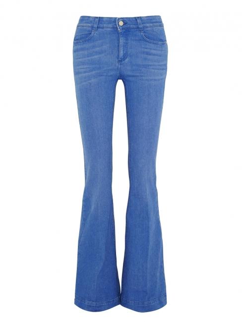 Jean flare en coton bleu clair Prix boutique 275€ Taille 24 (XS)