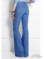 Jean flare en coton denim bleu clair Px boutique 275€ Taille 34/36