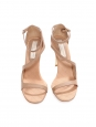 Nude eco-friendly faux leather heeled sandals Retail price €660 Size 39.5