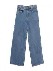 Jean taille haute flare bleu moyen Taille XXS