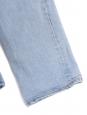 Light blue high waist boyfriend slim jeans Size XXS