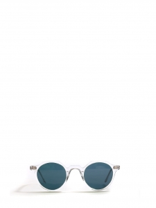 HERI Crystal clear frame sunglasses with blue mineral lenses Retail price €350 NEW