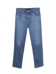 """Jean """"ADELE mid-rise straight earthern"""" bleu droit Prix boutique 228$ Taille 36/38"""