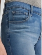 """""""ADELE mid-rise straight earthern"""" blue straight jeans Retail price $228 Size 36/38"""