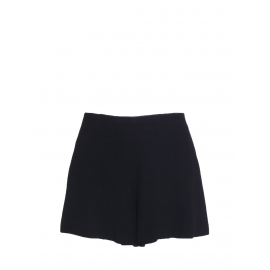 Black crepe high waisted shorts Retail price €490 Size 40