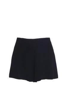 Short taille haute en crêpe noir Prix boutique 490€ Taille 40