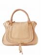 Beige pink python large Marcie shoulder bag Retail price 3000€
