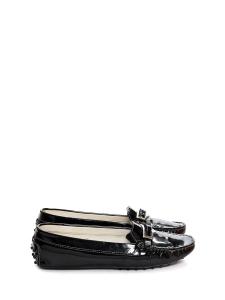 Mocassins GOMMINO en cuir verni noir Prix boutique 350€ Taille 40