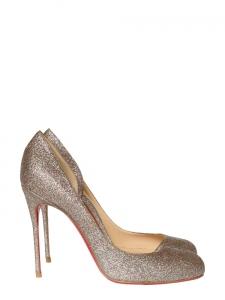 Helmour multicolor glitter stiletto heel pumps Retail price 450€ Size 41