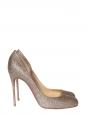 Escarpins stiletto glitter Helmour à paillettes multicouleur Px boutique 450€ Taille 41
