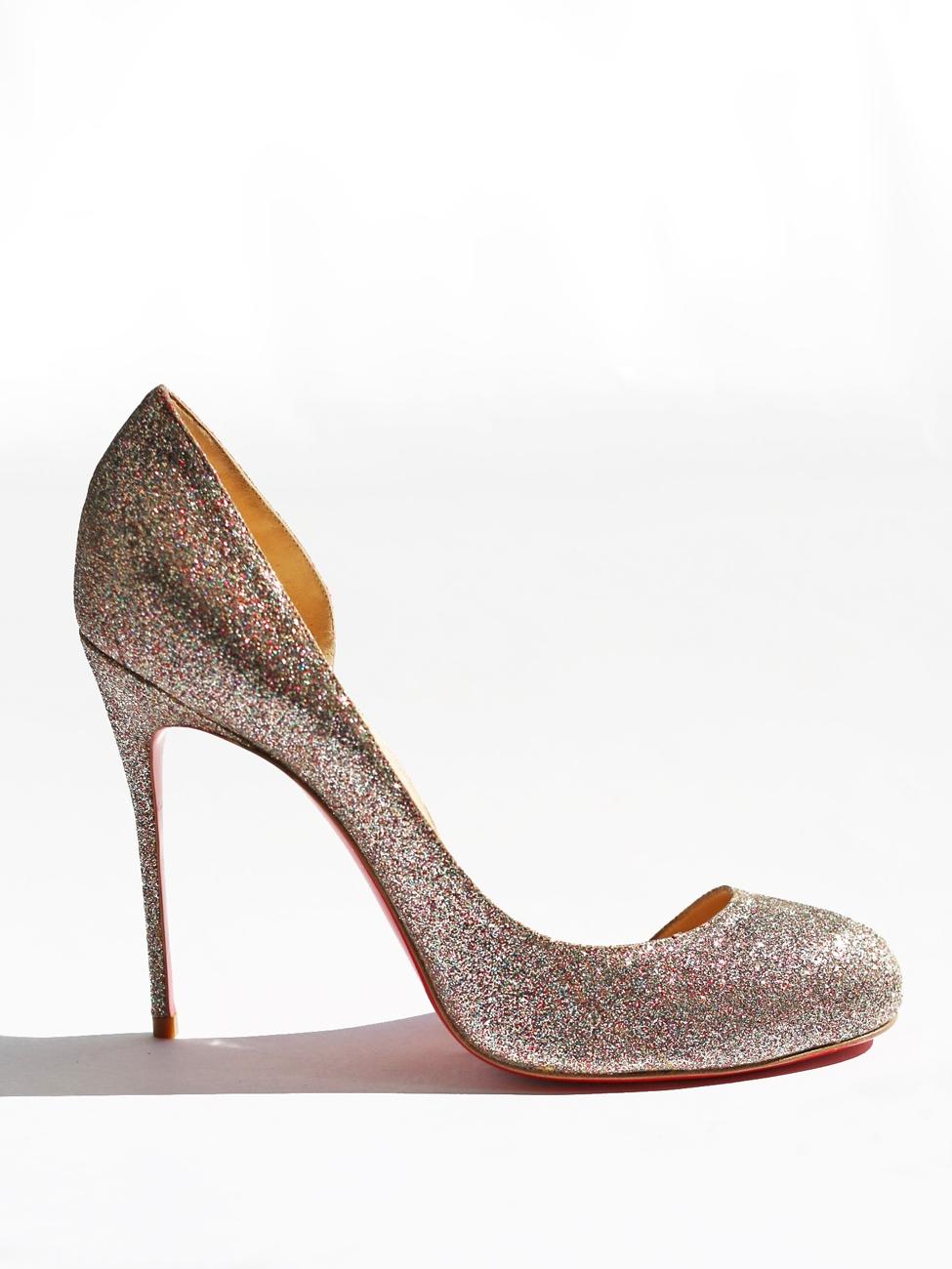 d572ddc5906 Louise Paris - CHRISTIAN LOUBOUTIN Escarpins stiletto glitter ...