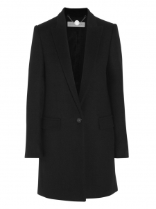 BRYCE dark grey wool and cashmere coat Retail price €1340 Size 38/40