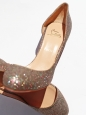 Helmour multicolor glitter stiletto heel pumps Retail price 450€ Size 41
