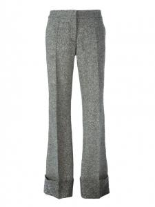 Grey wool JOSH flared pants Retail price €550 Size 36
