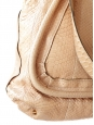Beige pink python Paraty tote week end bag Retail price 3000€