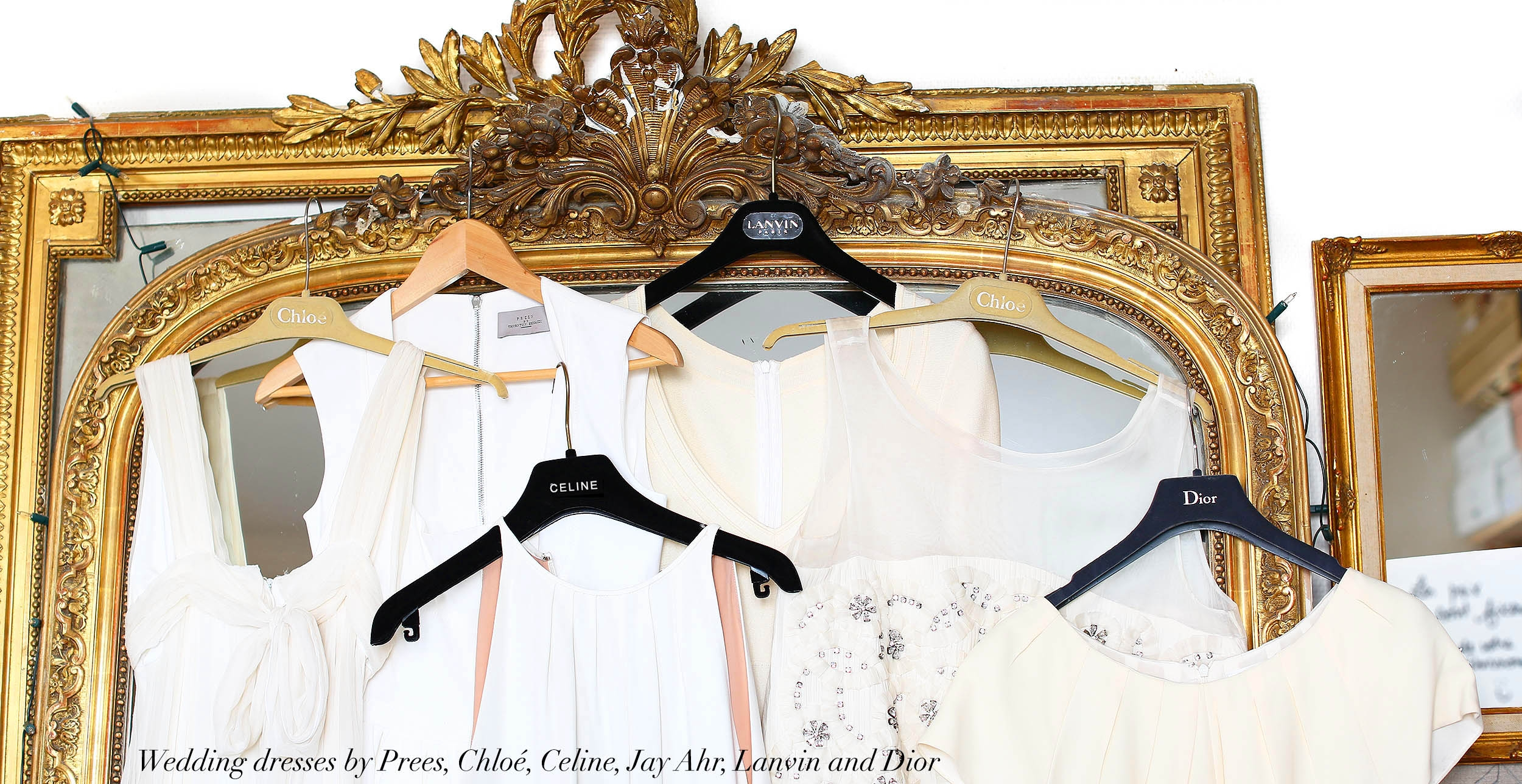 luxury second hand maxi wedding dresses made in italy by LANVIN CHLOE CELINE PREEN JAY AHR and DIOR