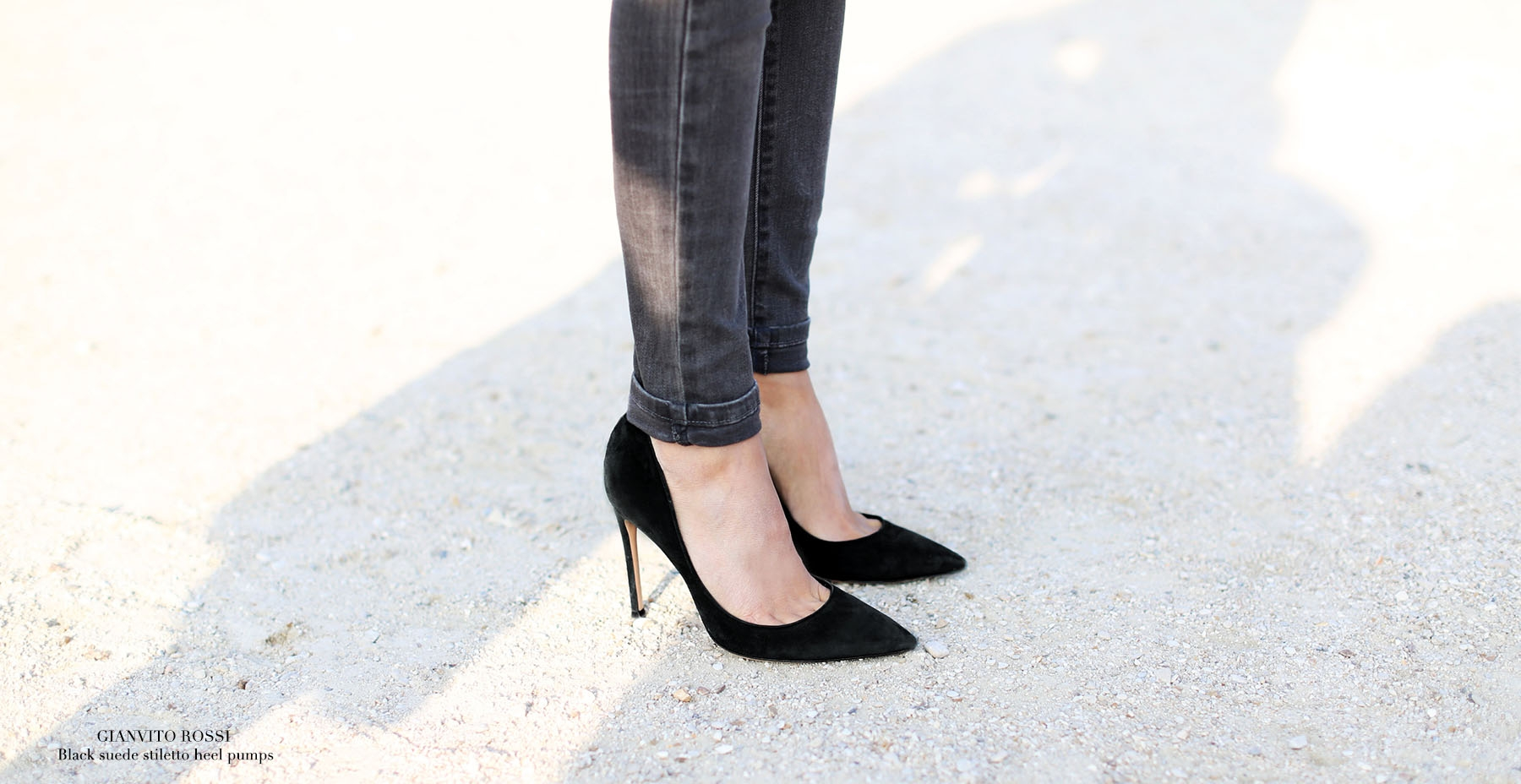 GIANVITO ROSSI Black suede high heel pointy toe pumps Retail price 500€ Size 37