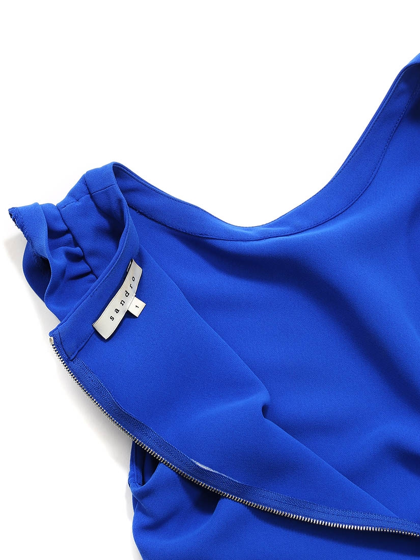 Robe bleu roi sandro